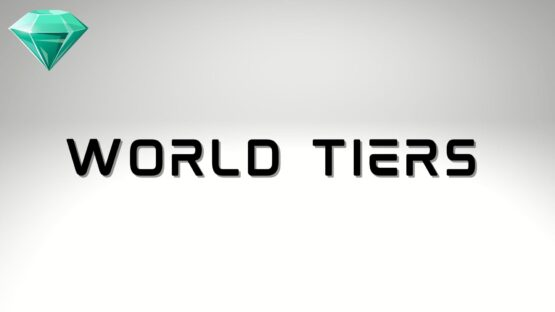 World Tiers Outriders